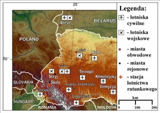 LOTNISKA-Zachodniej-Ukrainy-mapa