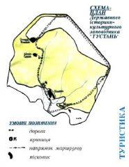 Tustan-schemat-historyczno-kulturowego-Mezeum